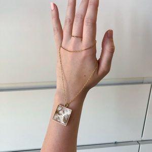 Jewelry - Pressed Flower Necklace